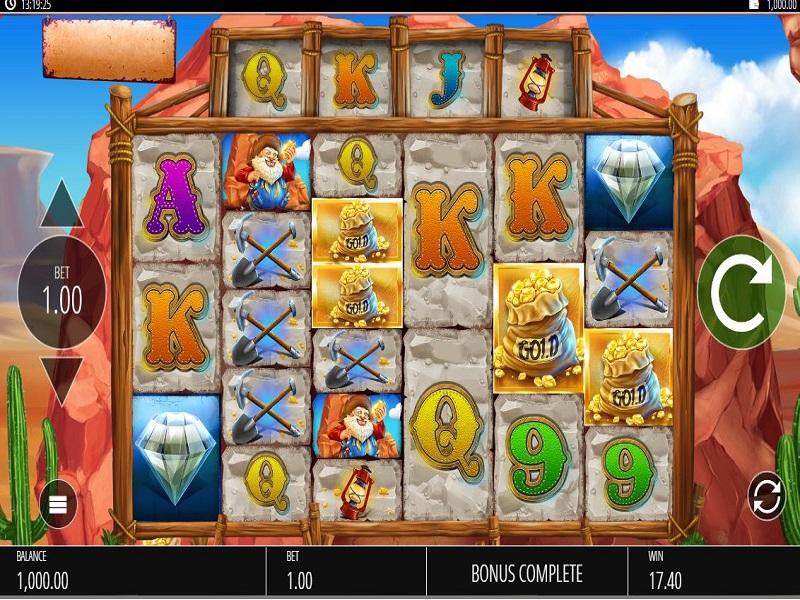 Diamond Mine Megaways Free games trigger