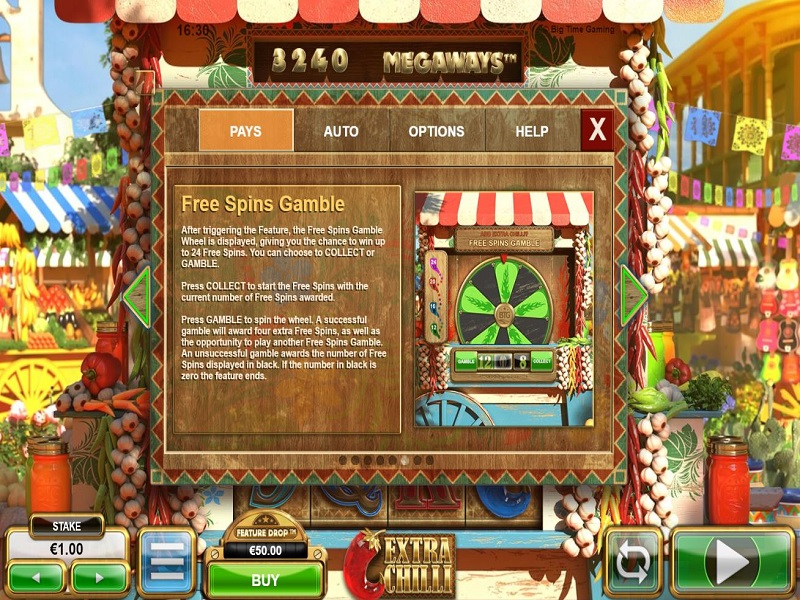 Extra Chilli Megaways Free games gamble info