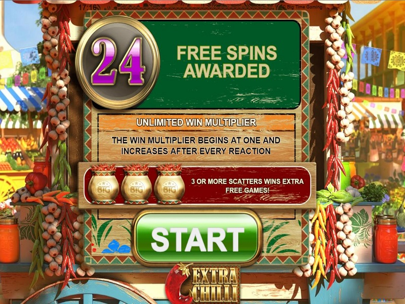 Extra Chilli Megaways Maximum spins gamble