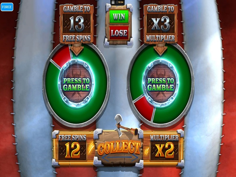 Vikings Unleashed Megaways Free games gamble wheels