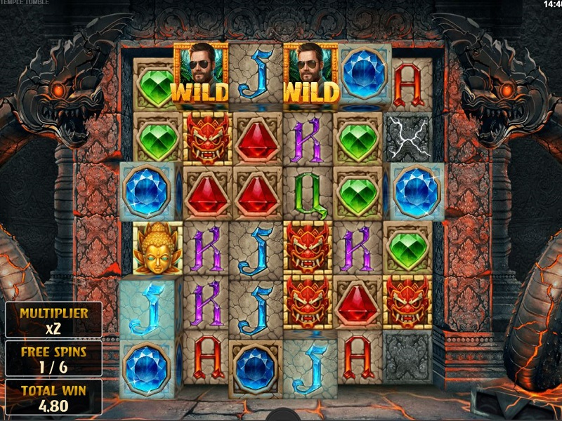 Temple Tumble Free games screen option