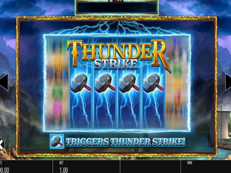 Thunder Strike Megaways Wild Respin info