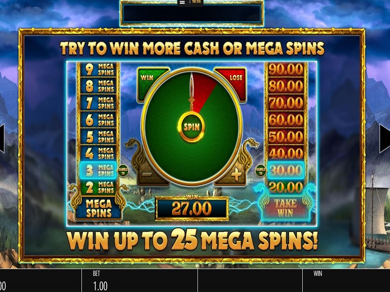 Thunder Strike Megaways Megaspin gamble meters